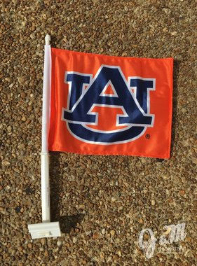 AU Auto Flag, Orange