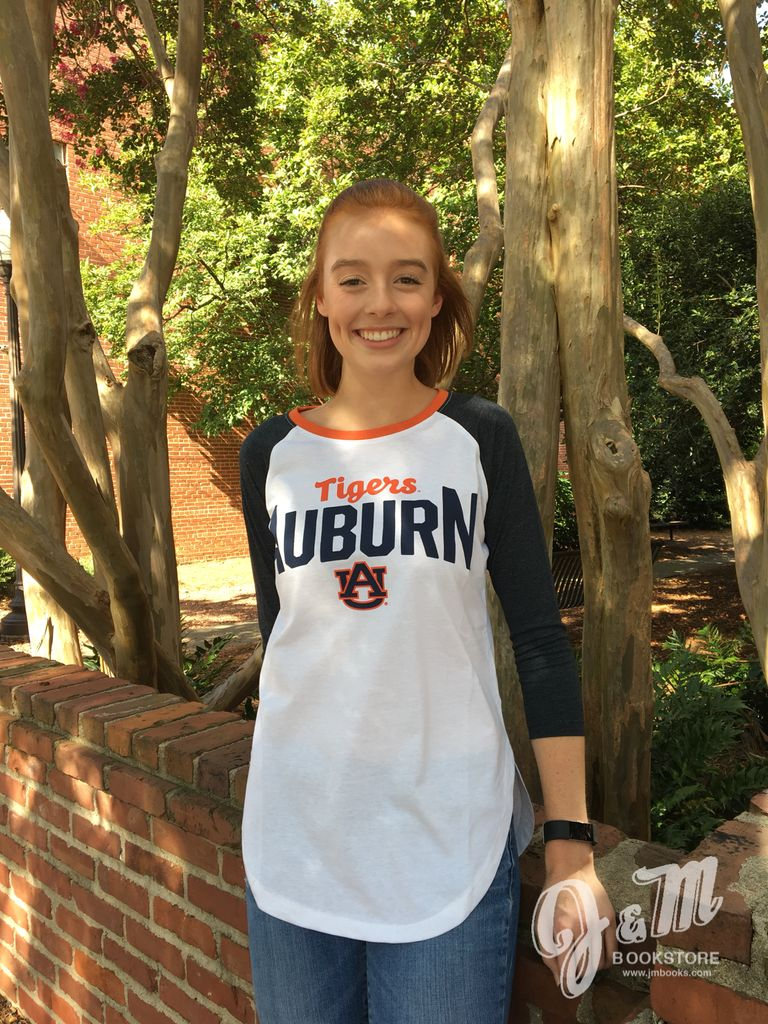 Auburn War Eagle Quin Raglan T-Shirt