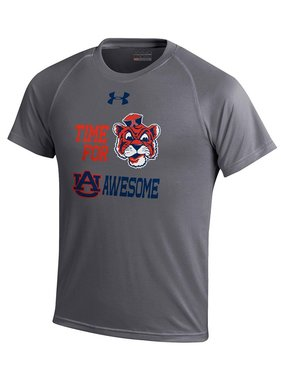 Under Armour Vintage Aubie AU is Awesome Youth T-Shirt
