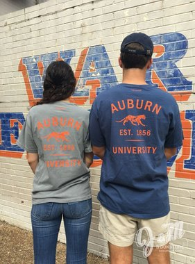 Tigerwear Auburn Prowl Tiger 1856 AU Pocket T-Shirt