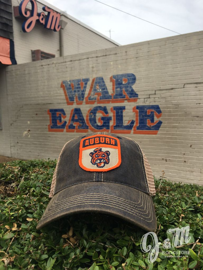 Auburn over Vintage Aubie Patch Mesh Hat