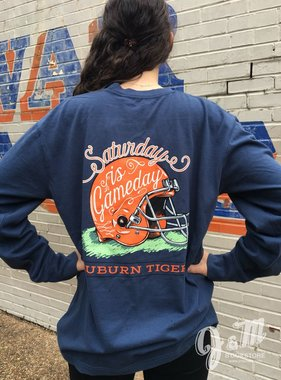 Saturday is Gameday Auburn Tigers Long Sleeve T-Shirt
