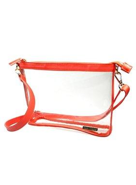 Capri Designs Orange Large Crossbody Bag