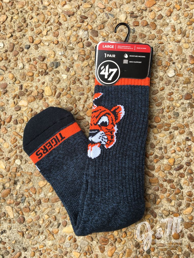 47 Brand Aubie Socks, Large
