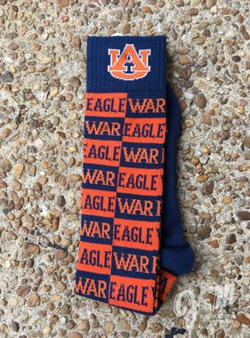 Donegal Bay AU War Eagle Checkerboard Socks