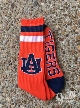 Donegal Bay AU Auburn Tigers Orange Tube Sock
