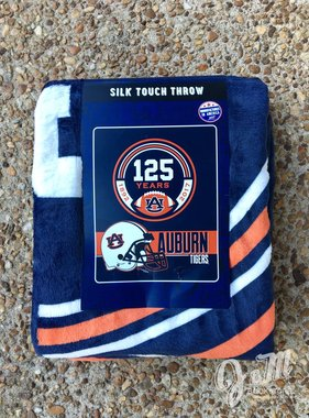 AU 125 Year Auburn Tigers Throw