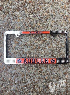 AU Auburn Alumni Bling Tag Frame