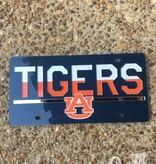 Tigers AU with Bar Acrylic License Plate