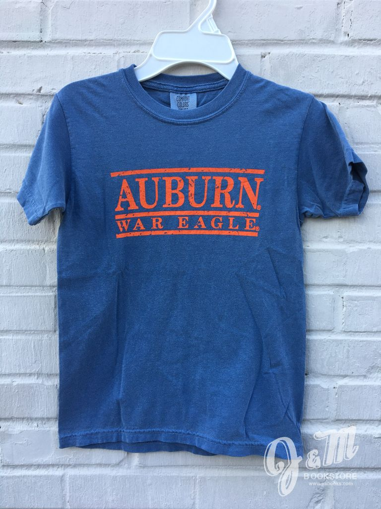 Mv sport auburn war eagle three bar youth t shirt j m for Auburn war eagle shirt