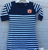 AU Kristen Cotton Jersey Striped Dress