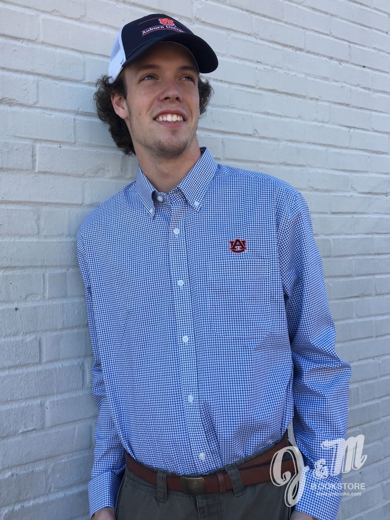 Cutter & Buck AU Epic Easy Care Tattersall Button Down