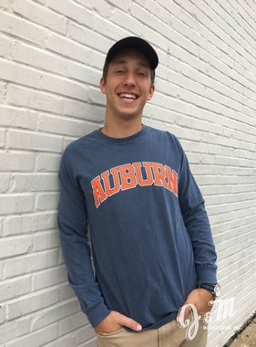 MV Sport Arch Auburn Long Sleeve T-Shirt