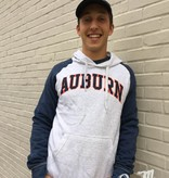MV Sport Arch Auburn Throwback Two Tone Hoodie