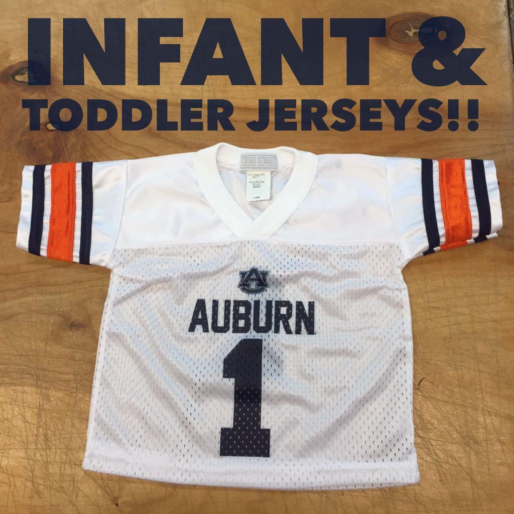 Third Street Sportswear Auburn #1 Infant and Toddler Jersey