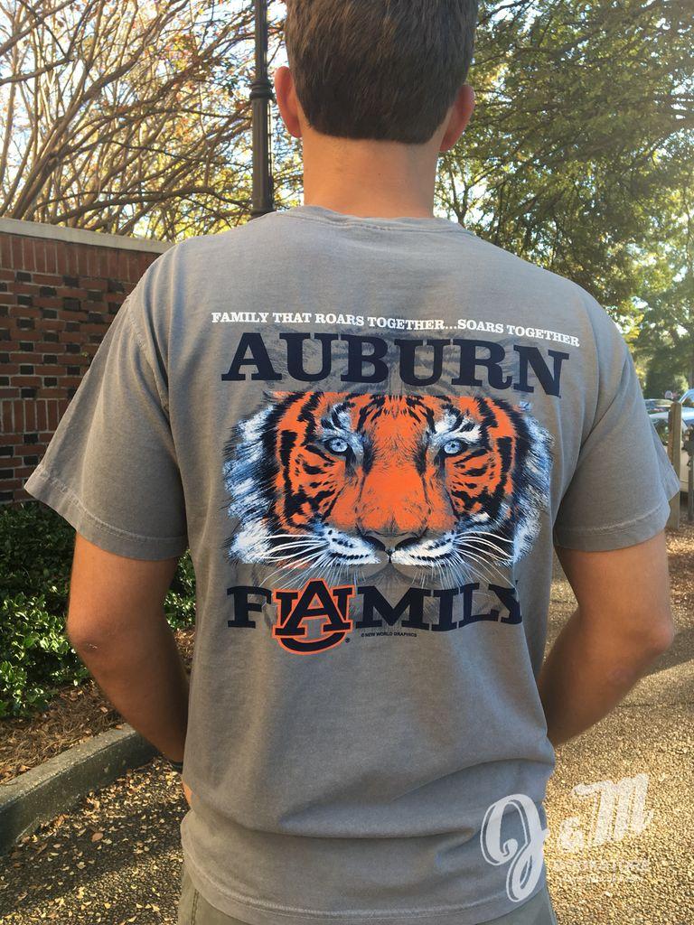 AU Family Roars Together Soars Together T-Shirt