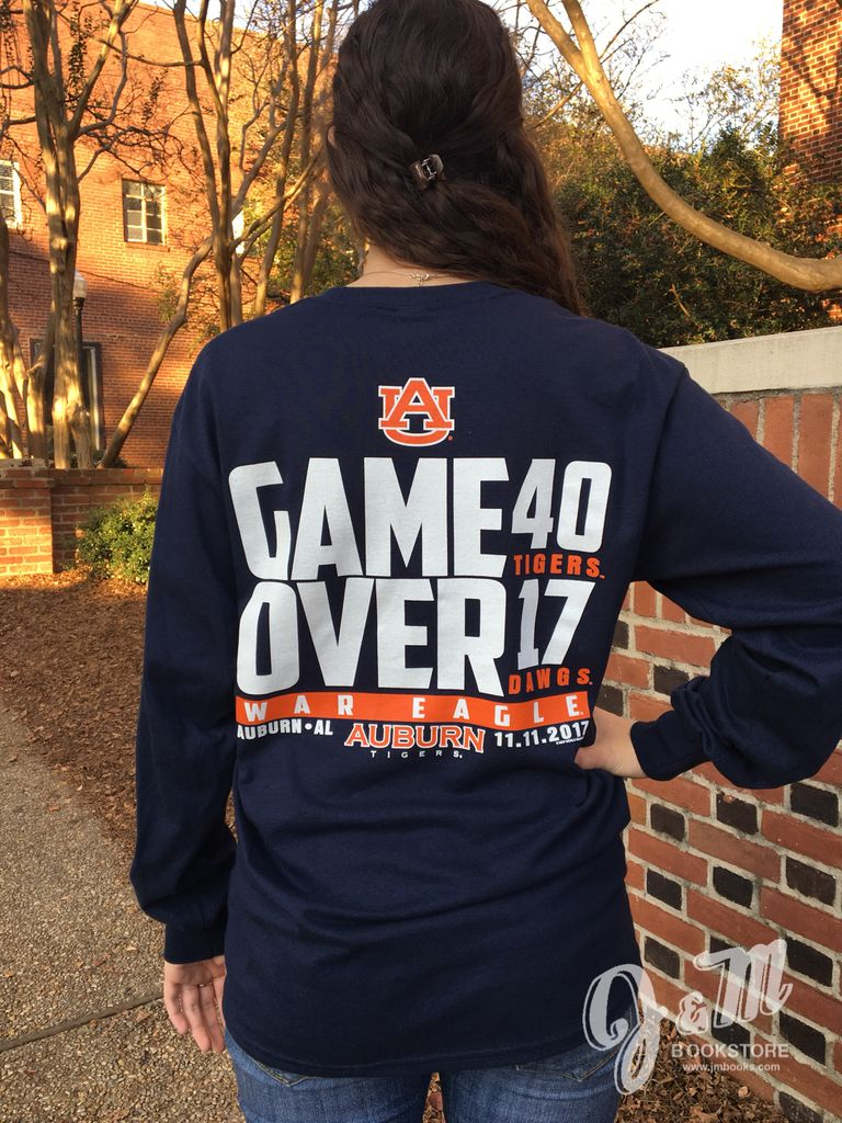 Game Over Georgia Long Sleeve T-Shirt