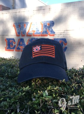 Navy and Orange Flag Hat