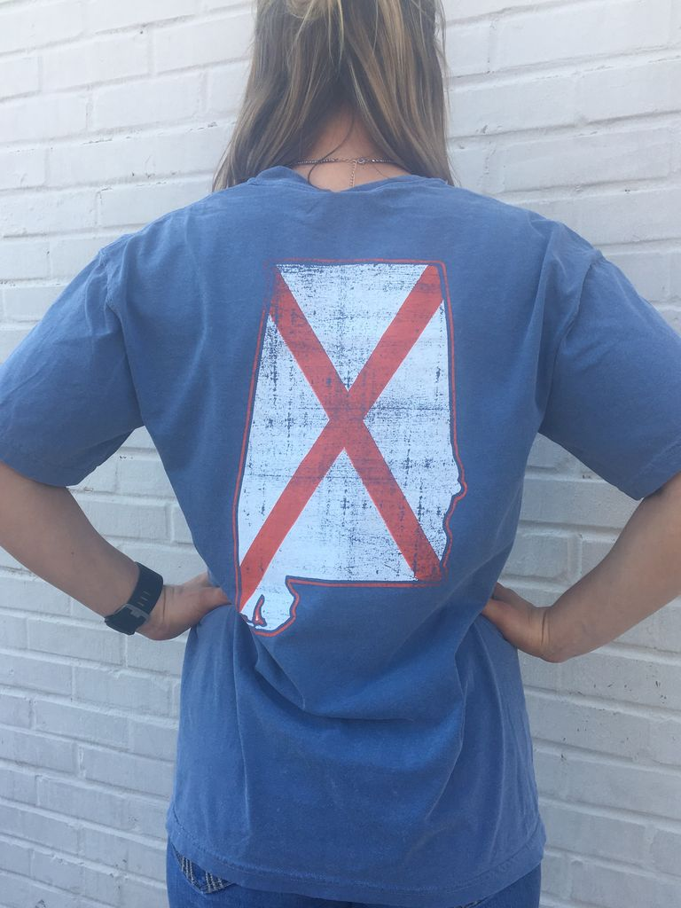 State of AL State Flag T-Shirt