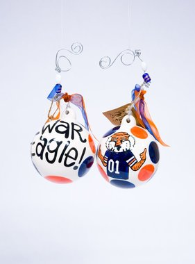 War Eagle Aubie Ornament