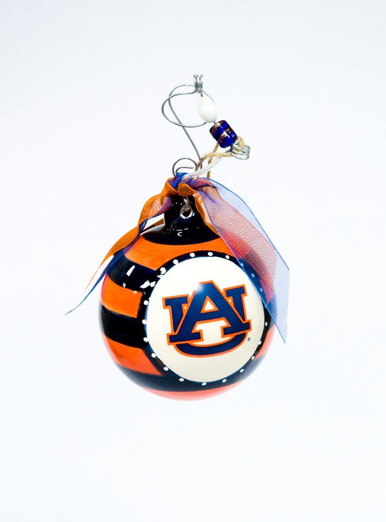 Auburn Stripe Ornament