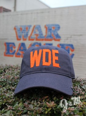 The Game WDE Navy Hat with Felt Letters