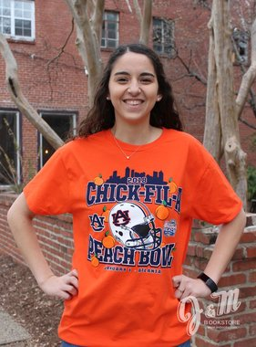 Retro Brand 2018 Chick-Fil-A Peach Bowl T-Shirt