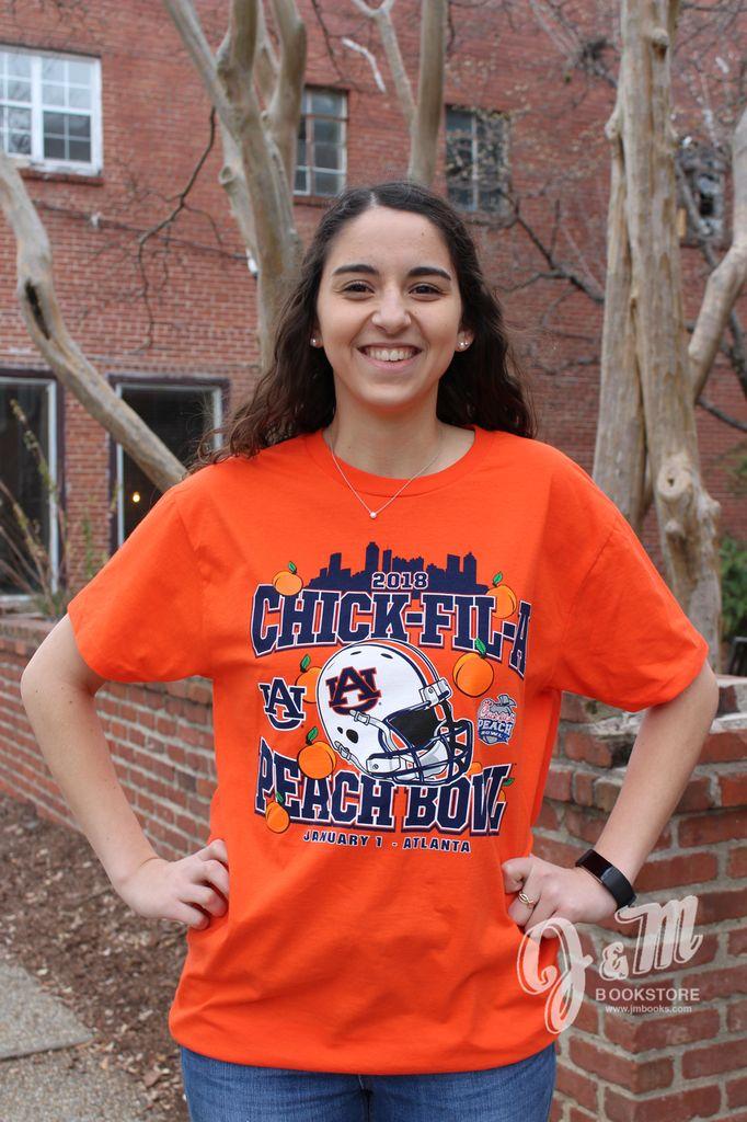Retro Brand 2018 Chick-Fil-A Peach Bowl T-Shirt