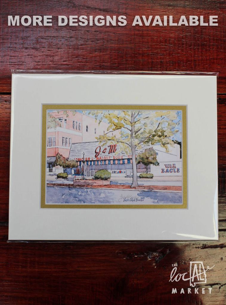 Leslie Brasher 5 by 7 to be 8x10 Matted Print