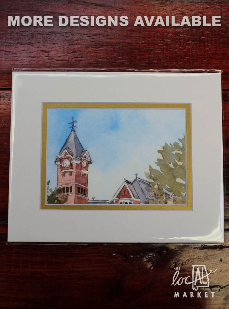 Leslie Brasher 8x10 Matted Print - J&M Bookstore