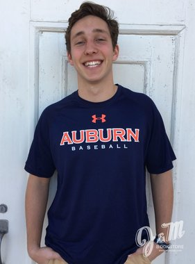 Under Armour Auburn Baseball T-Shirt