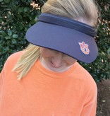 AU Women's Tennis Visor