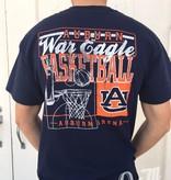 Auburn War Eagle Basketball T-Shirt