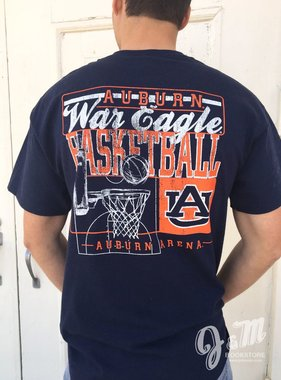 Auburn War Eagle Basketball T-Shirt