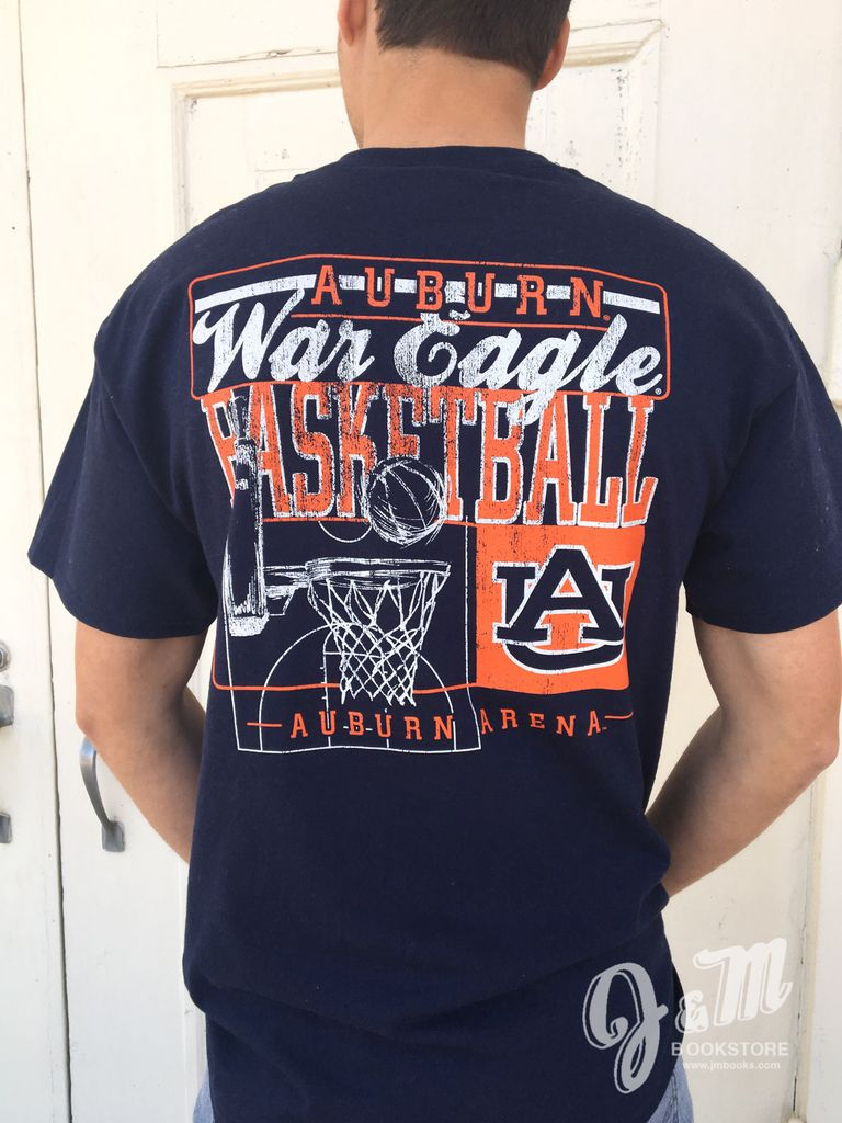 Auburn war eagle basketball t shirt j m bookstore for Auburn war eagle shirt