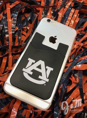 AU Cell Phone I.D. Holder Black