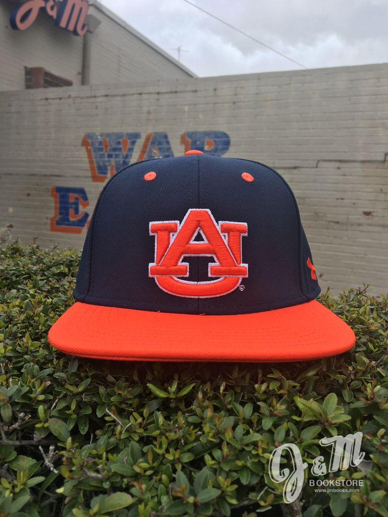 Under Armour Under Armour 2018 Baseball Hat Navy with Orange AU