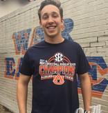 Retro Brand 2018 SEC Champions Auburn Basketball T-Shirt