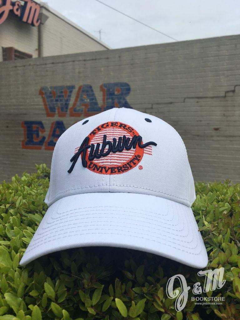 The Game Auburn Tigers University Circle Hat, White