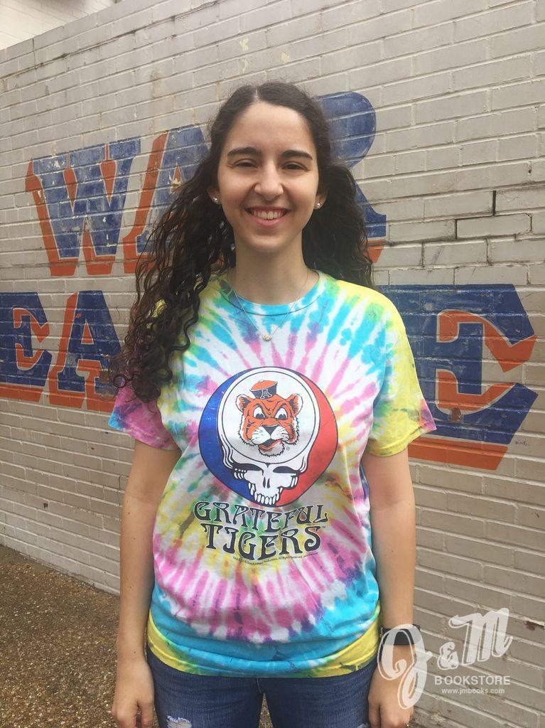 Retro Brand Grateful Tigers Tie Dye T-Shirt