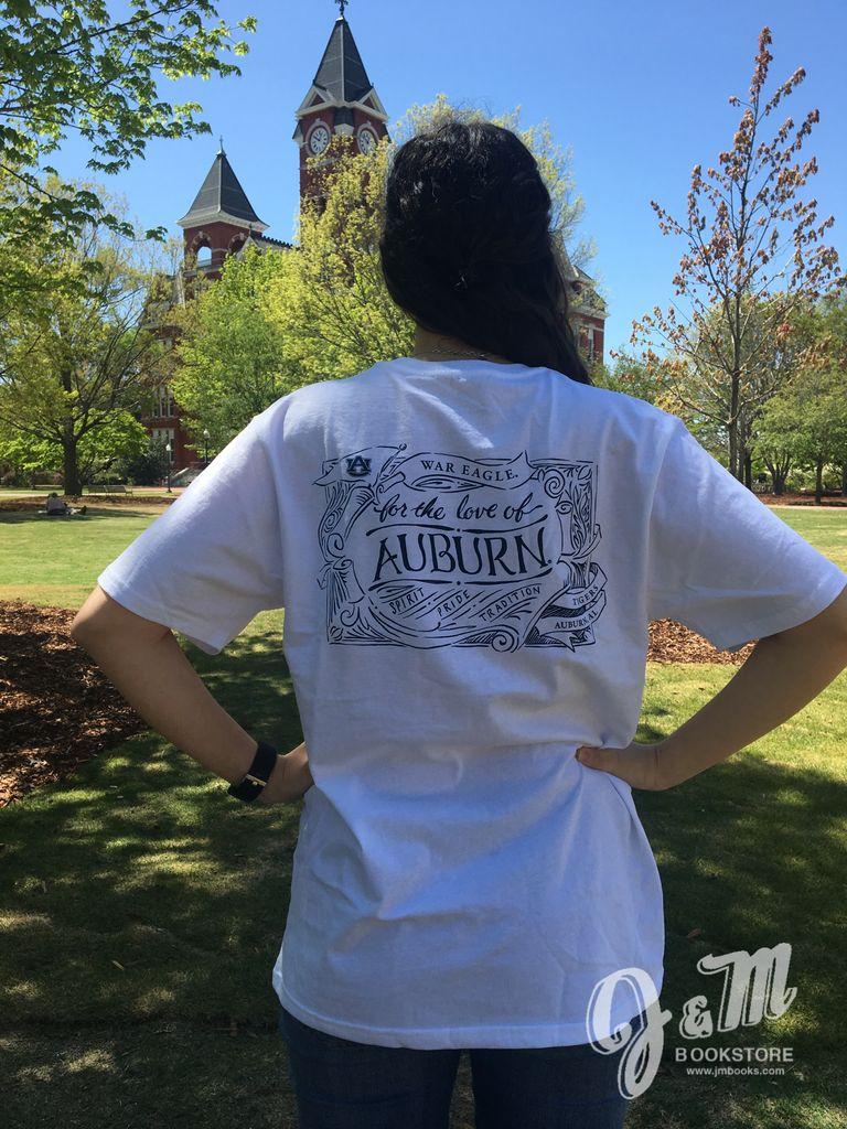 Lauren James Company For The Love of Auburn T-Shirt