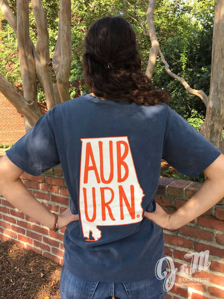 MV Sport AUB URN State Outline T-Shirt