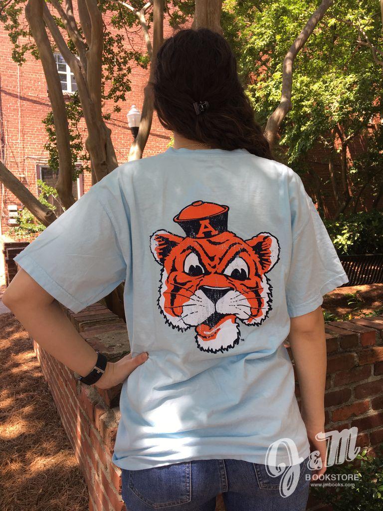 MV Sport Vintage Aubie Comfort Color T-Shirt