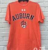 Under Armour Arch Auburn Vintage Aubie Head Triblend T-Shirt