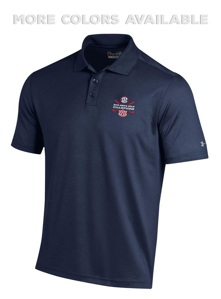 Under Armour 2018 Mens Golf SEC Champions Polo