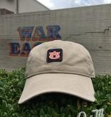 The Game AU Classic Square Pattern Khaki Hat