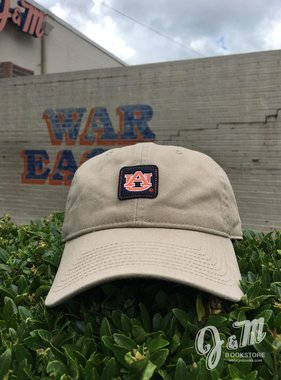The Game AU Classic Square Pattern Khaki Hat