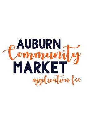 Donald E. Davis Arboretum Auburn Community Market Application Fee