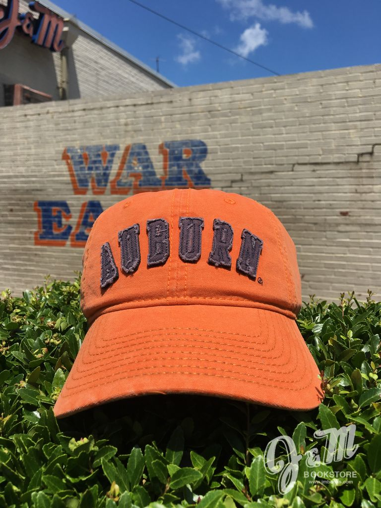 The Game Arch Auburn Embroidered Vintage Orange Hat