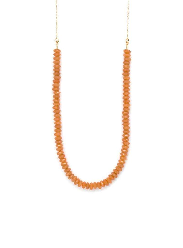 Emma Jane Designs, LLC Long Beaded Orange Necklace